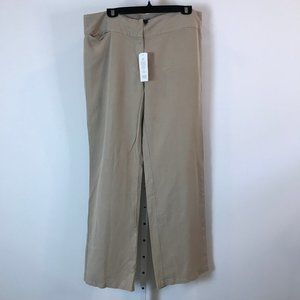 Eileen Fisher Tencil Linen Wide Leg Pants L NWT